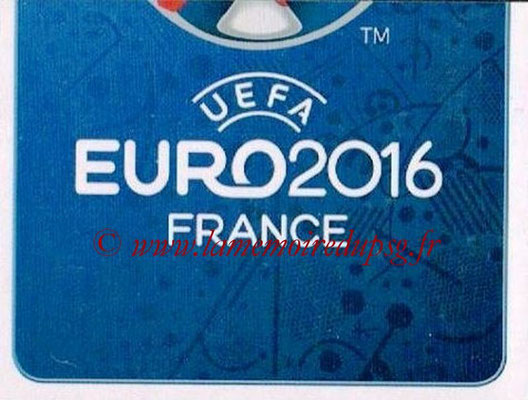 Panini Euro 2016 Stickers - N° 002 - Logo officiel UEFA 2016  2