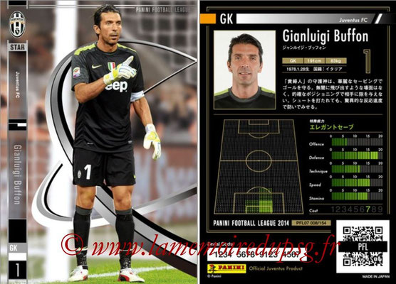 Panini Football League 2014 - PFL07 - N° 008 - Gianluigi BUFFON (Juventus FC) (Star)