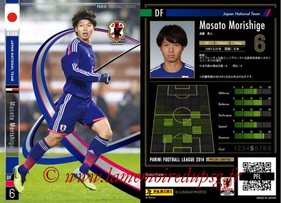 Panini Football League 2014 - PFL06 - N° 128 - Masato MORISHIGE (Japon) (Star)