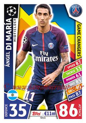 2017-18 - Topps UEFA Champions League Match Attax - N° GC11 - Angel DI MARIA (Paris Saint-Germain) (Game Changers)