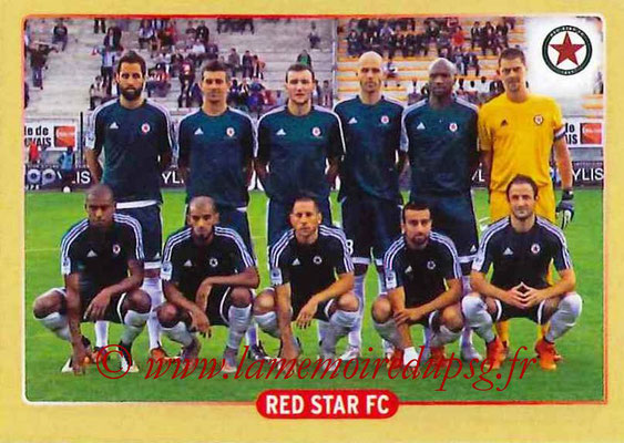 2015-16 - Panini Ligue 1 Stickers - N° 514 - Equipe Red Star FC