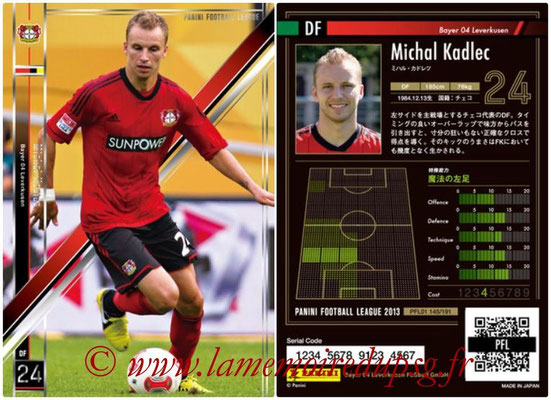 Panini Football League 2013 - PFL01 - N° 145 - Michal Kadlec ( Bayer 04 Leverkusen )