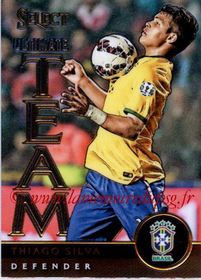 2015 - Panini Select Soccer - N° UT07 - Thiago SILVA (Brésil) (Ultimate Team)