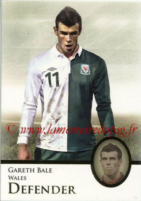 2013 - Futera World Football Unique - N° 121 - Gareth BALE (Pays de Galles) (Defender) (Master)