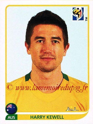 2010 - Panini FIFA World Cup South Africa Stickers - N° 293 - Harry KEWELL (Australie)