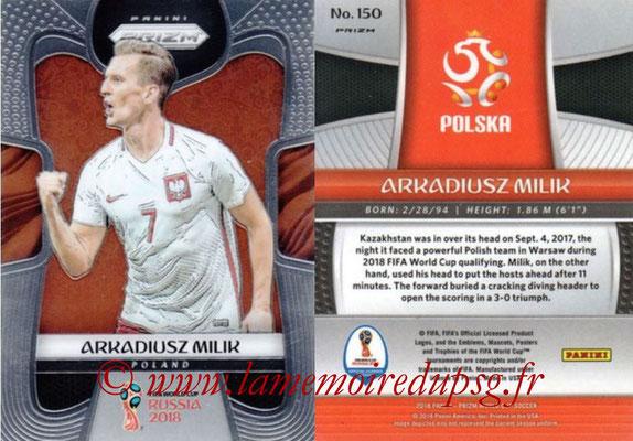 2018 - Panini Prizm FIFA World Cup Russia - N° 150 - Arkadiusz MILIK (Pologne)