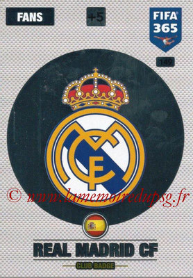 2016-17 - Panini Adrenalyn XL FIFA 365 - N° 149 - Logo Real Madrid CF (Badge Club)