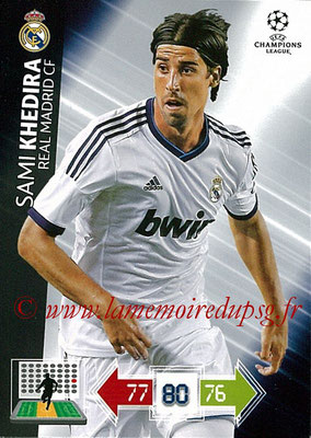 2012-13 - Adrenalyn XL champions League N° 224 - Sami KHEDIRA (Real Madrid CF)
