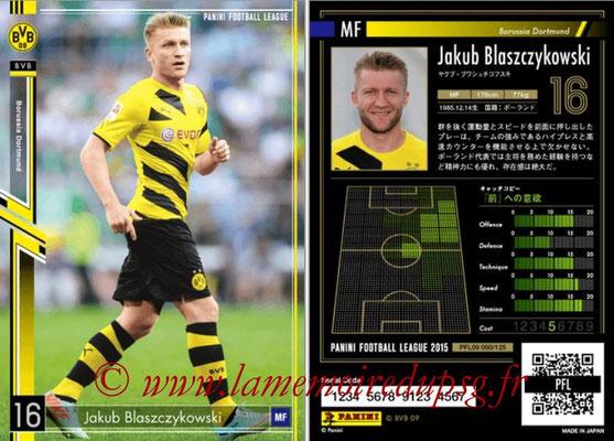 Panini Football League 2015 - PFL09 - N° 090 - Jakub BLASZCYKOWSKI (Borussia Dortmund)