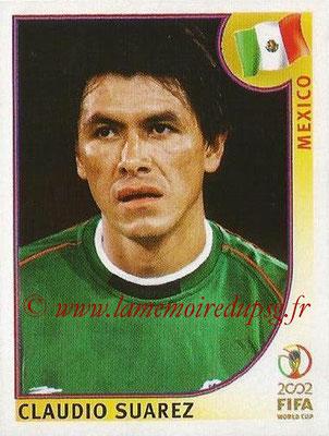 2002 - Panini FIFA World Cup Stickers - N° 498 - Claudio SUAREZ (Mexique)