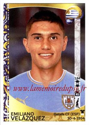Panini Copa America Centenario USA 2016 Stickers - N° 237 - Emiliano VELAZQUEZ (Uruguay)