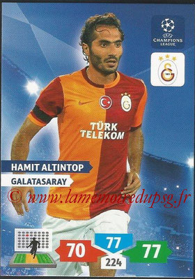 2013-14 - Adrenalyn XL champions League N° 139 - Hamit ALTINTOP (Galatasaray AS)