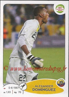 2014 - Panini Road to FIFA World Cup Brazil Stickers - N° 187 - Alexander DOMINGUEZ (Equateur)