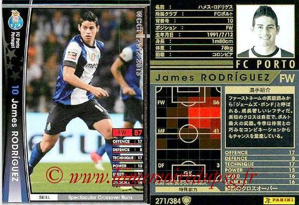 2012-13 - WCCF - N° 271 - James RODRIGUEZ (FC Porto)
