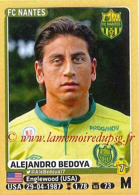 2015-16 - Panini Ligue 1 Stickers - N° 300 - Alejandro BEDOYA (FC Nantes)