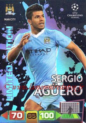 2011-12 - Panini Champions League Cards - N° LE27 - Sergio AGUERO (Manchester City FC) (Limited Edition)