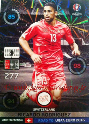 Panini Road to Euro 2016 Cards - N° LE-RR - Ricardo RODRIGUEZ (Suisse) (Limited Edition)