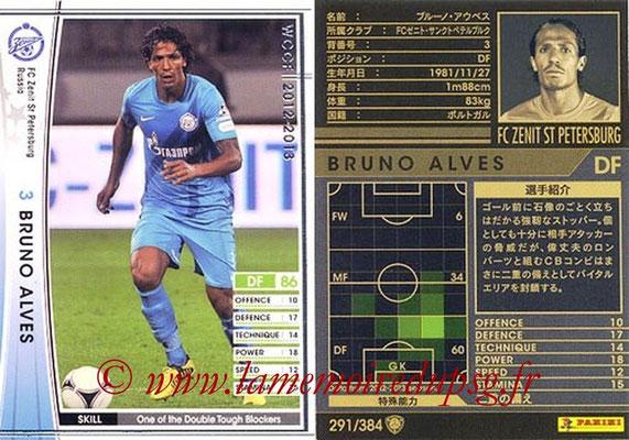 2012-13 - WCCF - N° 291 - Bruno ALVES (FC  Zenit)