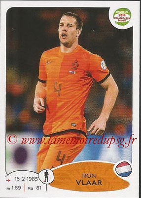 2014 - Panini Road to FIFA World Cup Brazil Stickers - N° 303 - Ron VLAAR (Pays-Bas)