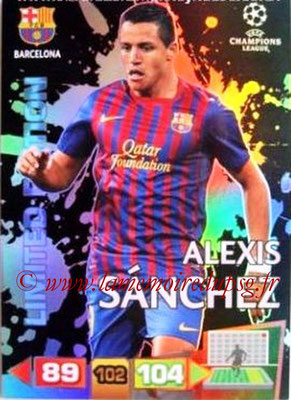 2011-12 - Panini Champions League Cards - N° LE08 - Alexis SANCHEZ (FC Barcelone) (Limited Editon)