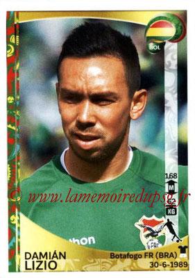 Panini Copa America Centenario USA 2016 Stickers - N° 389 - Damian LIZIO (Bolivie)