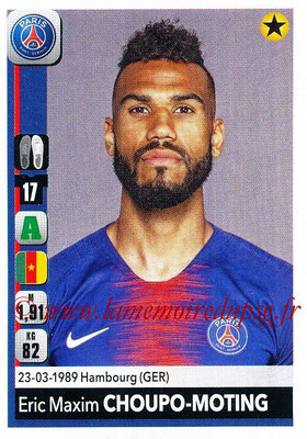 2018-19 - Panini Ligue 1 Stickers - N° 368 - Eric MAXIM CHOUPO-MOTING (Paris Saint-Germain)