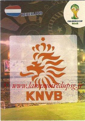 2014 - Panini FIFA World Cup Brazil Adrenalyn XL - N° 250 - Logo Pays-Bas