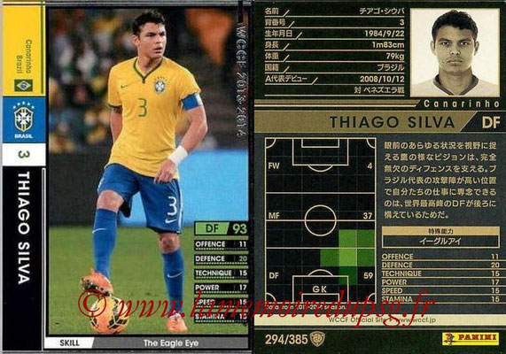 N° 294 - Thiago SILVA (Bresil)