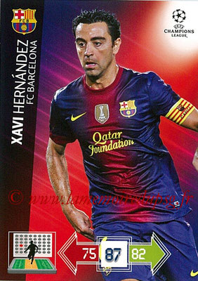 2012-13 - Adrenalyn XL champions League N° 032 - Xavi HERNANDEZ (FC Barcelone