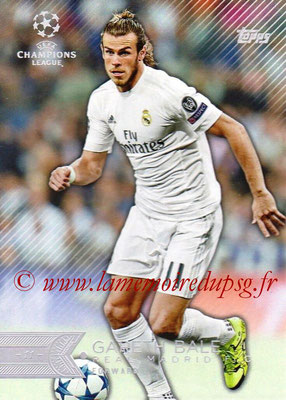 2015-16 - Topps UEFA Champions League Showcase Soccer - N° 014 - Gareth BALE (Real Madrid CF)