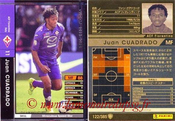 2013-14 - WCCF - N° 122 - Juan CUADRADO (ACF Fiorentina)
