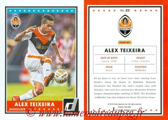 2015 - Panini Donruss Soccer - N° 023 - Alex TEIXEIRA (Shakhtar Donetsk)