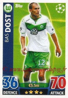 2015-16 - Topps UEFA Champions League Match Attax - N° 125 - Bas DOST (VFL Wolfsburg)