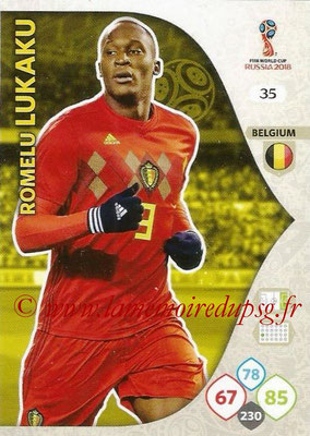 2018 - Panini FIFA World Cup Russia Adrenalyn XL - N° 035 - Romelu LUKAKU (Belgique)