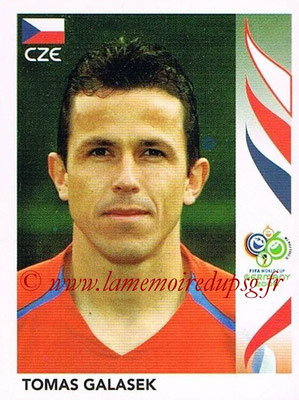 2006 - Panini FIFA World Cup Germany Stickers - N° 367 - Tomas GALASEK (République Tchèque)