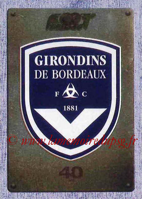 2015-16 - Panini Ligue 1 Stickers - N° 073 - Ecusson FC Girondins de Bordeaux