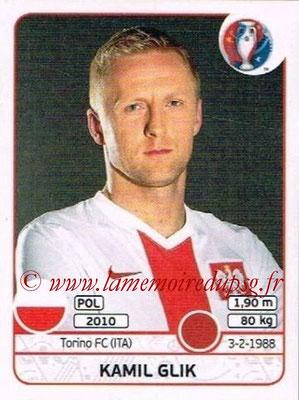 Panini Euro 2016 Stickers - N° 295 - Kamil GLIK (Pologne)