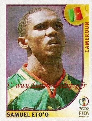 2002 - Panini FIFA World Cup Stickers - N° 383 - Samuel ETO'O (Cameroun)