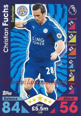 2016-17 - Topps Match Attax Premier League - N° 129