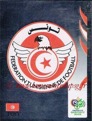 2006 - Panini FIFA World Cup Germany Stickers - N° 569 - Logo Tunisie
