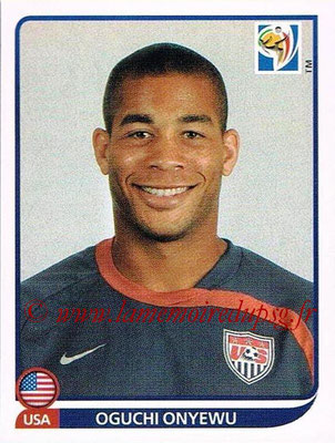 2010 - Panini FIFA World Cup South Africa Stickers - N° 209 - Oguchi ONYEWU (États Unis)