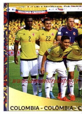 Panini Copa America Centenario USA 2016 Stickers - N° 039 - Equipe Colombie 1