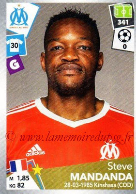 2017-18 - Panini Ligue 1 Stickers - N° 209 - Steve MANDANDA (Marseille)