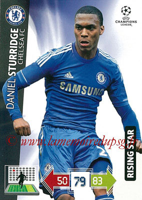 2012-13 - Adrenalyn XL champions League N° 097 - Daniel STURRIDGE (Chelsea FC) (Rising Star)