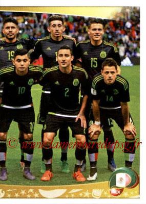 Panini Copa America Centenario USA 2016 Stickers - N° 208 - Equipe Mexique 2