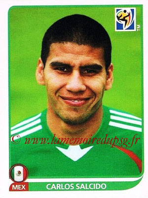 2010 - Panini FIFA World Cup South Africa Stickers - N° 052 - Carlos SALCIDO (Méxique)