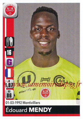 2018-19 - Panini Ligue 1 Stickers - N° 377 - Edouard MENDY (Reims)