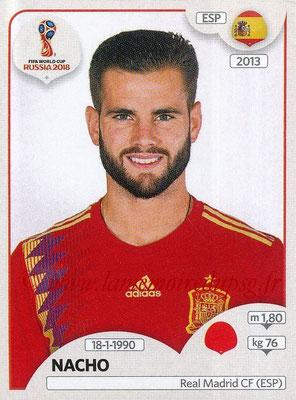 2018 - Panini FIFA World Cup Russia Stickers - N° 136 - NACHO (Espagne)