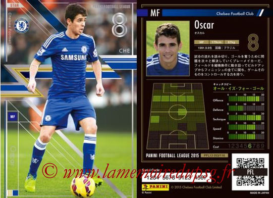 Panini Football League 2015 - PFL13 - N° 053 - OSCAR (Chelsea FC) (Star)