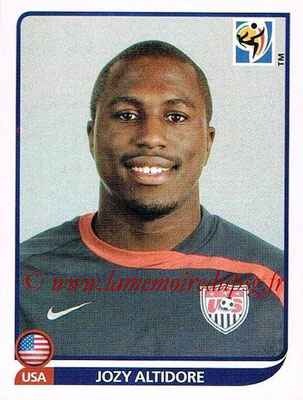 2010 - Panini FIFA World Cup South Africa Stickers - N° 219 - Jozy ALTIDORE (États Unis)